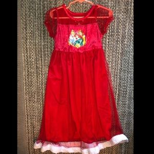 Toddler girls Disney Princess Nightgown 5T
